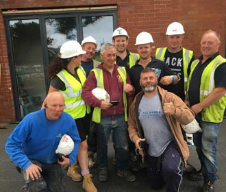 A6 Windows diy sos children in need blackpool