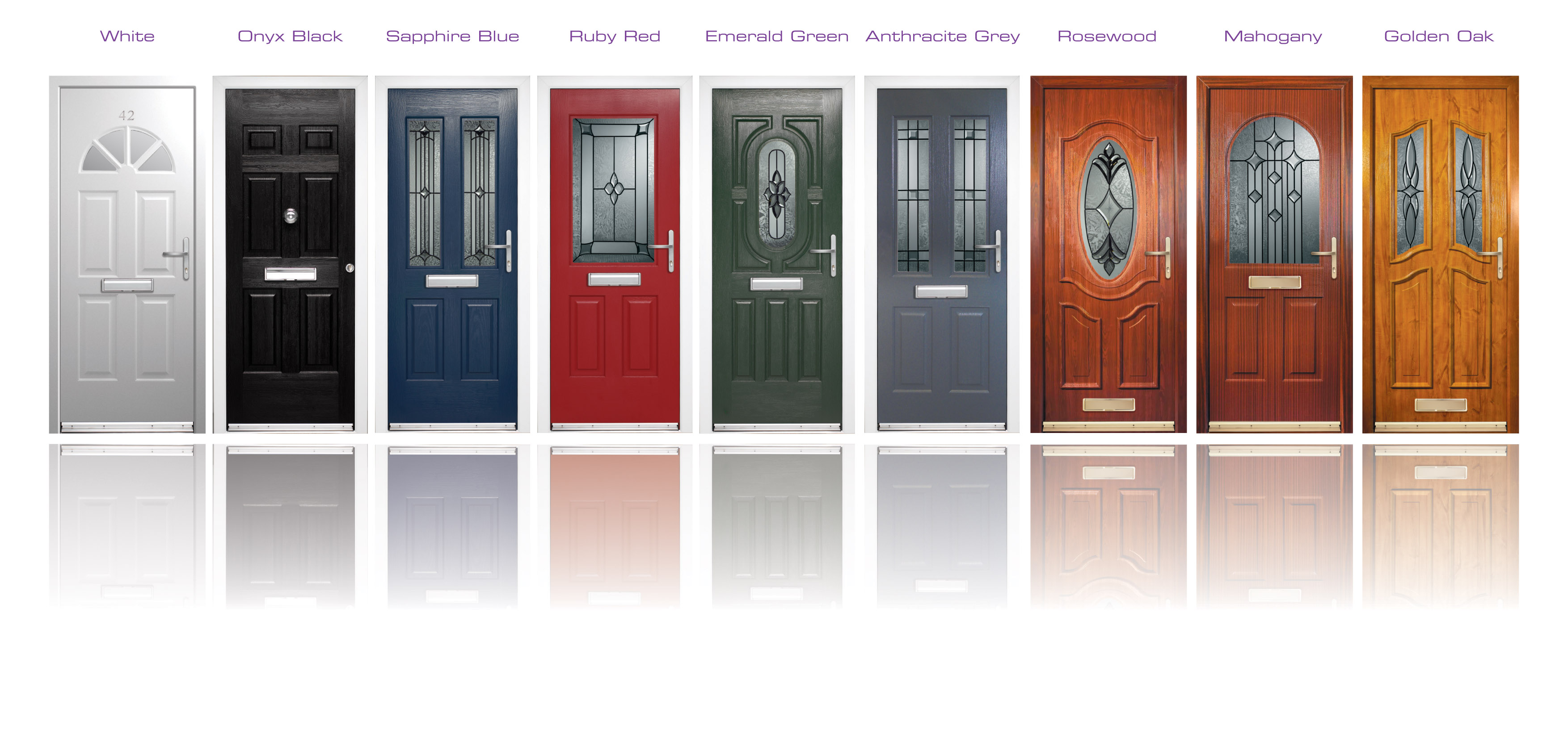 Rockdoor front door composite door installation for New windows doors