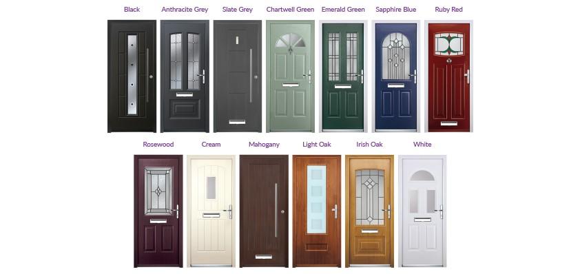 rockdoor colours  sc 1 st  A6 Windows & Rockdoor Installers| Rockdoors| Composite Door Installation ...